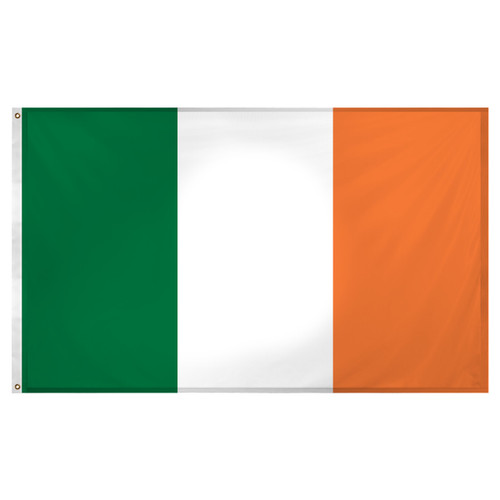 Ireland flag 3ft x 5ft Super Knit polyester