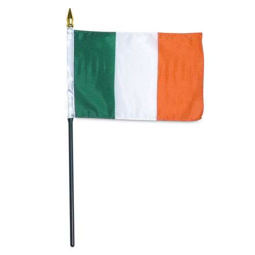 Ireland 4in x 6in Flag
