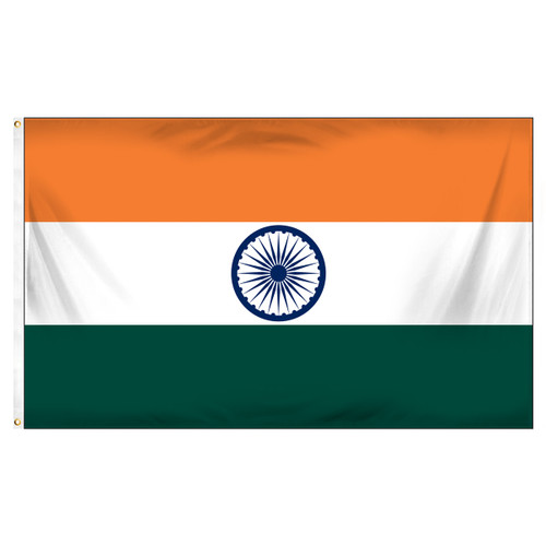 India 3ft x 5ft Printed Polyester Flag