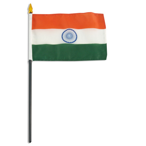 India flag 4 x 6 inch