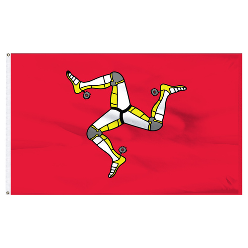 Isle of Man 3x5ft Nylon Flag