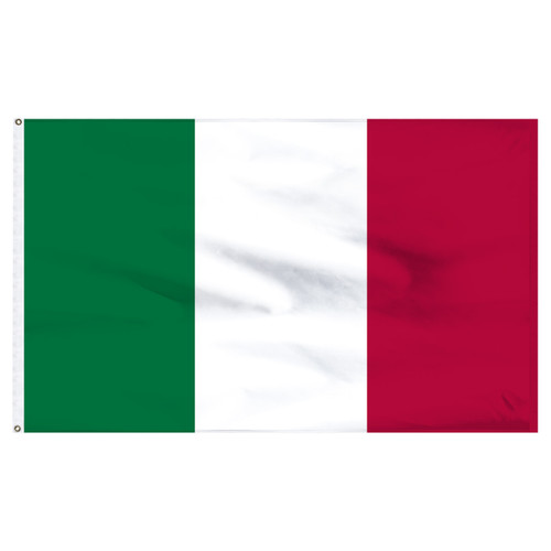 Italy 6ft x 10ft Nylon Flag