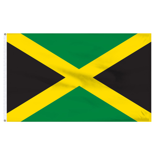 Jamaica 5ft x 8ft Nylon Flag