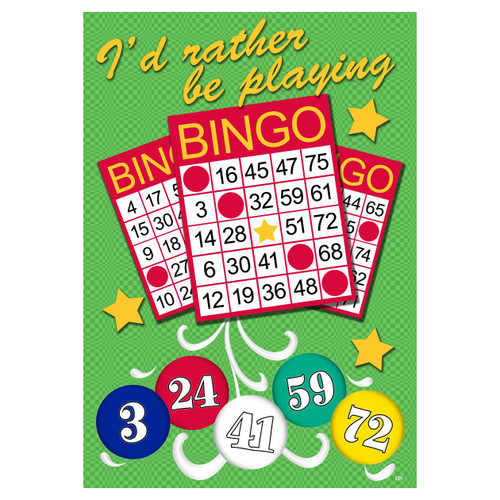 Special Occasions Garden Flag - Bingo