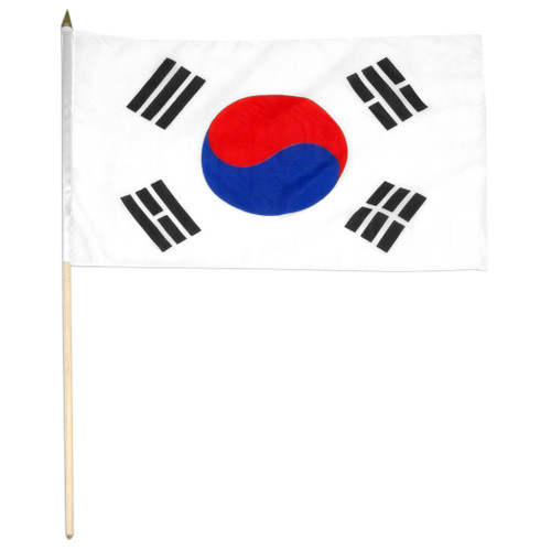 Korea South flag 12 x 18 inch
