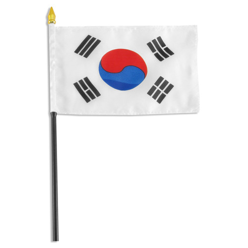 Korea South flag 4 x 6 inch