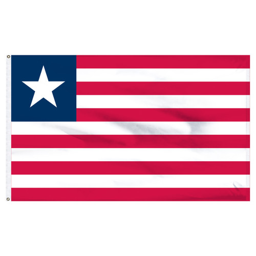 Liberia 5ft x 8ft Nylon Flag