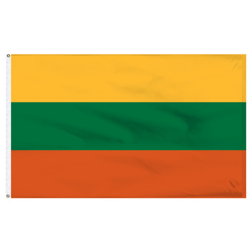 Lithuania 5ft x 8ft Nylon Flag