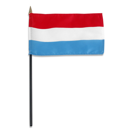 Luxembourg flag 4 x 6 inch