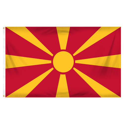 Macedonia 3ft x 5ft Printed Polyester Flag