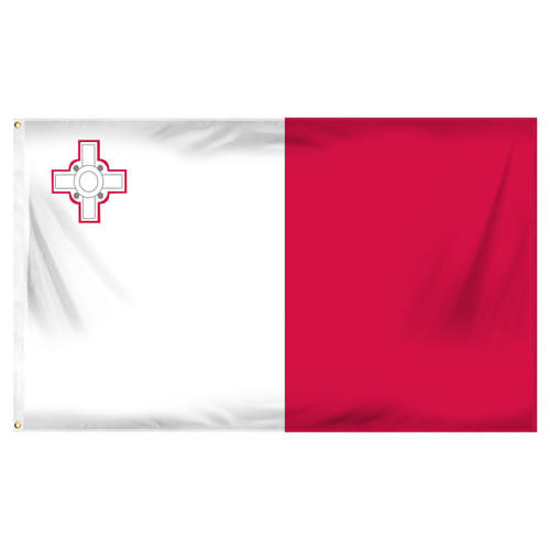 Malta 3ft x 5ft Printed Polyester Flag
