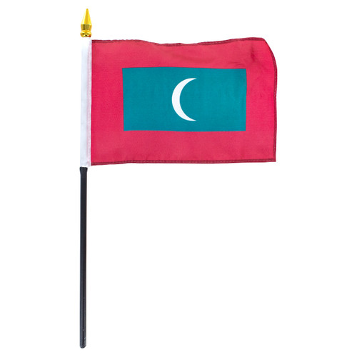 Maldives Flag 4 x 6 inch