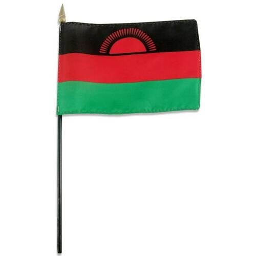 Malawi 4in x 6in Flag