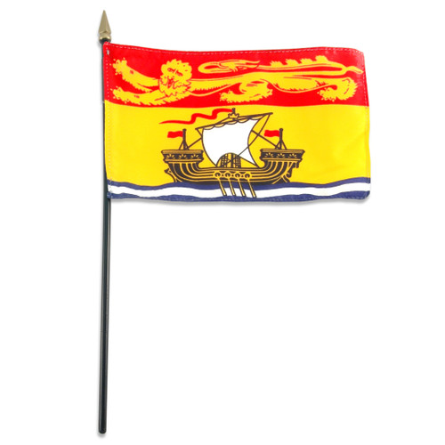 New Brunswick flag 4 x 6 inch