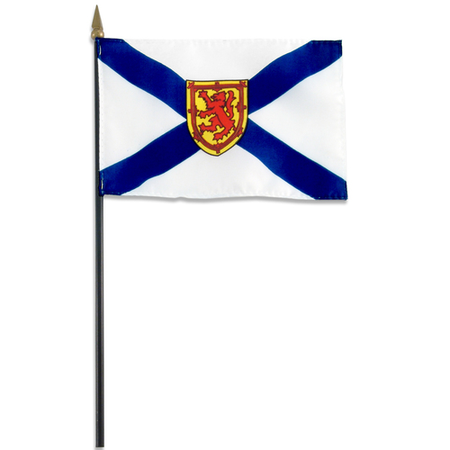 Nova Scotia flag 4 x 6 inch