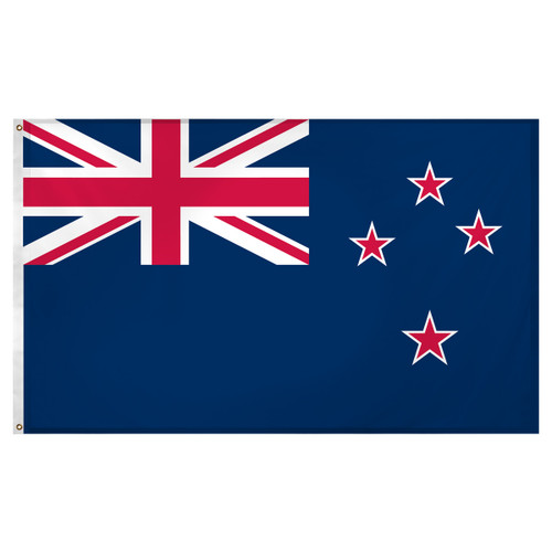 New Zealand flag 3ft x 5ft Super Knit Polyester