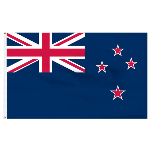 New Zealand 5ft x 8ft Nylon Flag