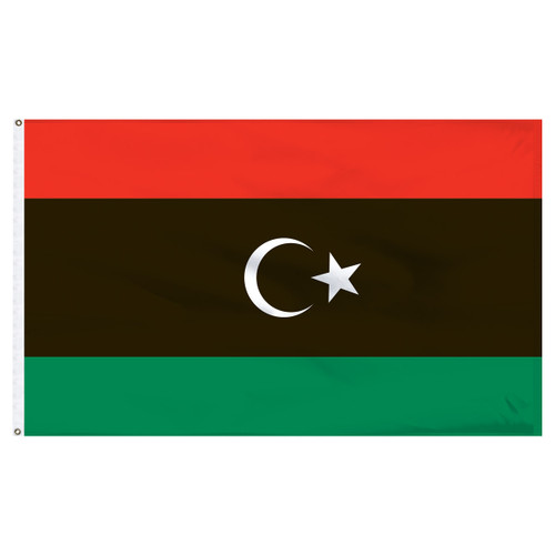 4ft x 6ft Libya Nylon Flag