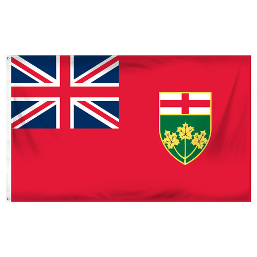 Ontario 3ft x 5ft Printed Polyester Flag