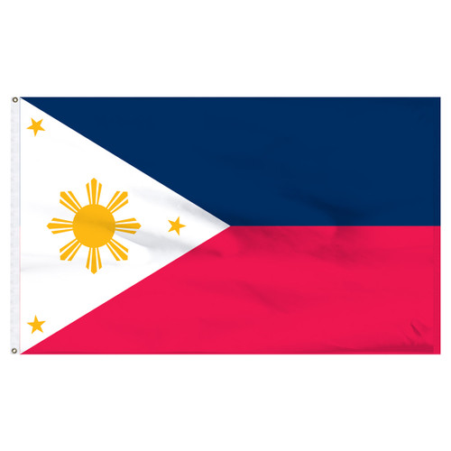 Philippines 5ft x 8ft Nylon Flag