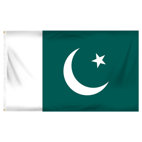 Pakistan 3ft x 5ft Printed Polyester Flag