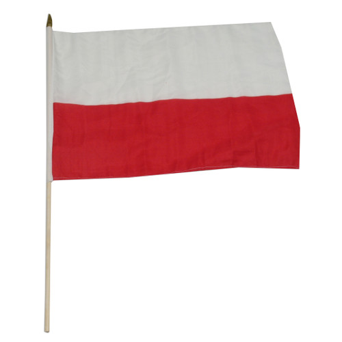 Poland National Flag 12 x 18 inch