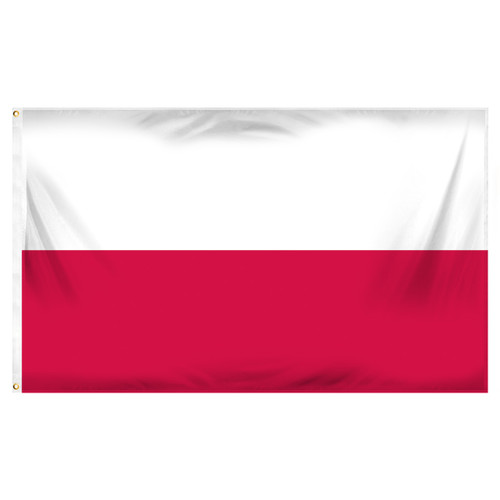 Poland National 3ft x 5ft Printed Polyester Flag
