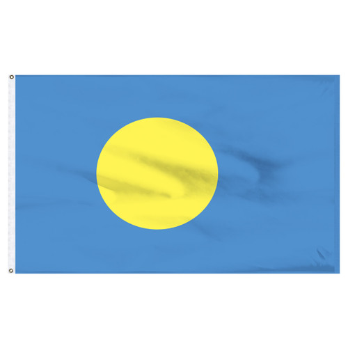 "Palau 12"" x 18"" Nylon Flag"