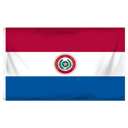Paraguay 3ft x 5ft Printed Polyester Flag