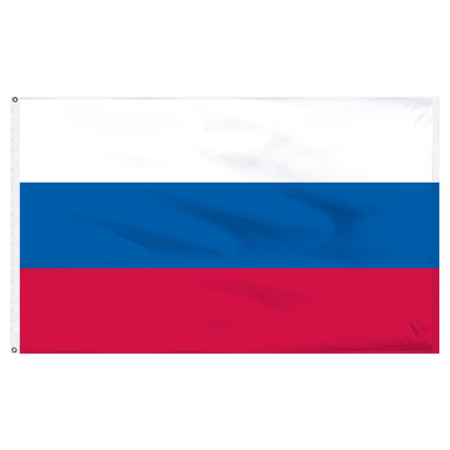 Russian Federation 5ft x 8ft Nylon Flag