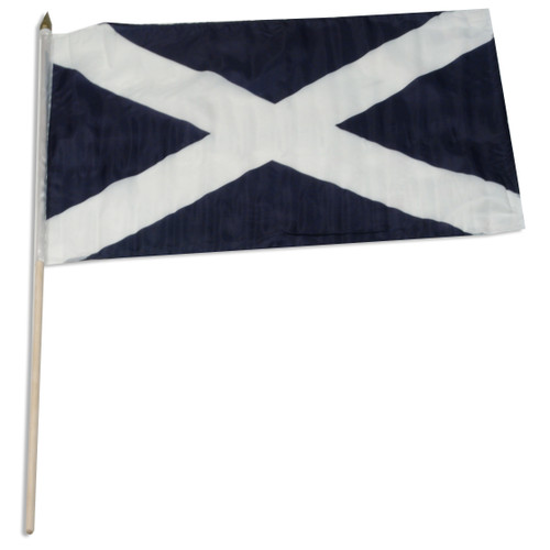 Scotland (St Andrew's Cross) 12 x 18 Inch Flag