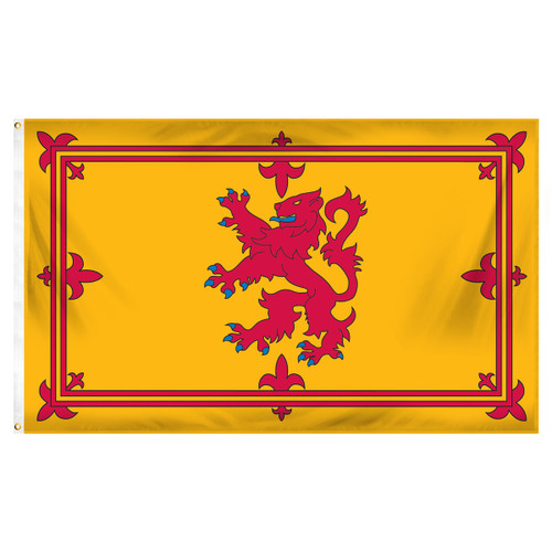 Scotland Royal Lion Rampant 3ft x 5ft Printed Polyester Flag