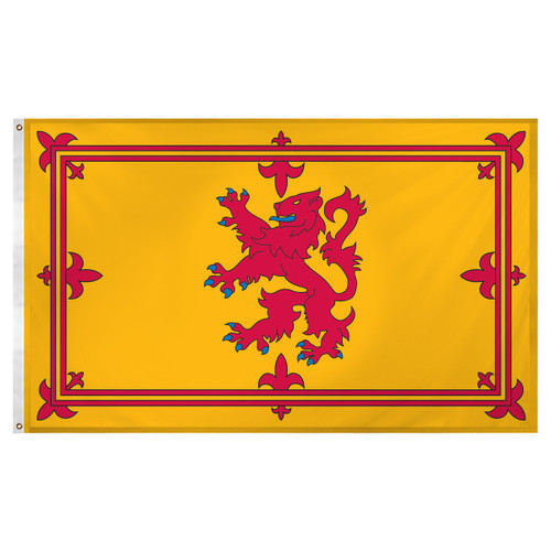 Scotland - Royal Lion Rampant 3ft x 5ft Super Knit Polyester Flag