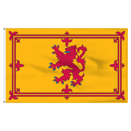 Scotland (Royal Lion Rampant Banner) 5ft x 8ft Nylon Flag