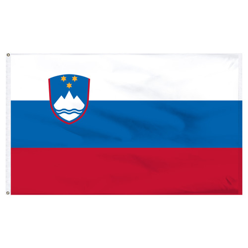 Slovenia 5ft x 8ft Nylon Flag