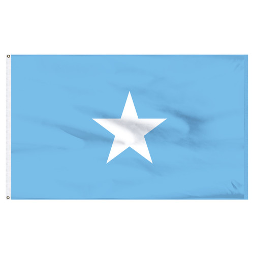 Somalia 5ft x 8ft Nylon Flag
