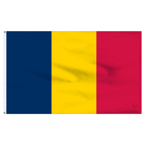 Chad 5ft x 8ft Nylon Flag
