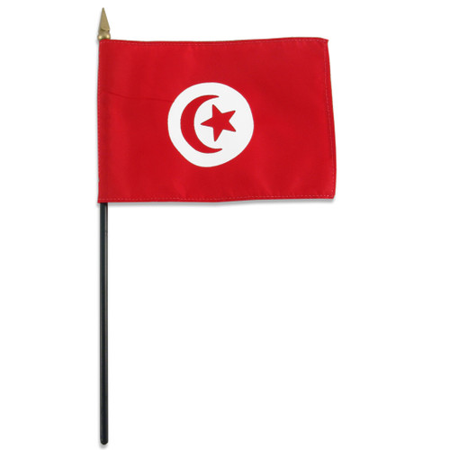 Tunisia flag 4 x 6 inch