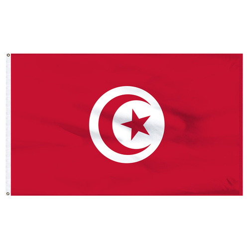 Tunisia 4ft x 6ft Nylon Flag