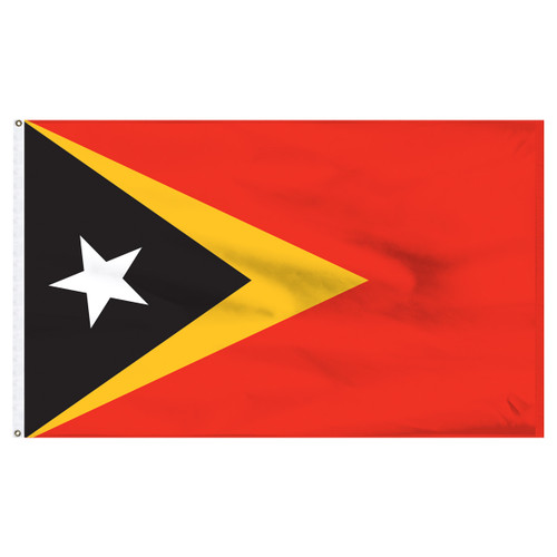 East Timor 5' x 8' Nylon Flag