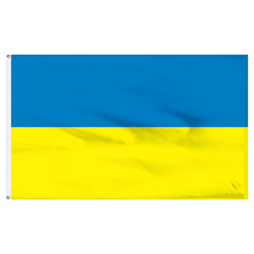 Ukraine Flag 5ft x 8ft Nylon