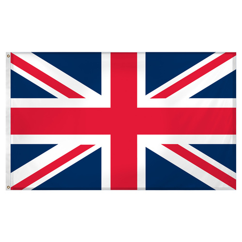 United Kingdom - Great Britain 3ft x 5ft Super Knit polyester