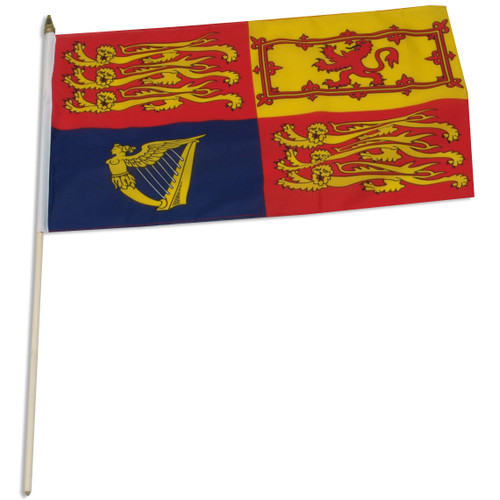 UK Royal Standard 12 x 18 Inch Flag
