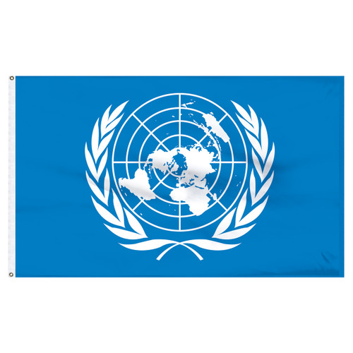 United Nations 5ft x 8ft Nylon Flag