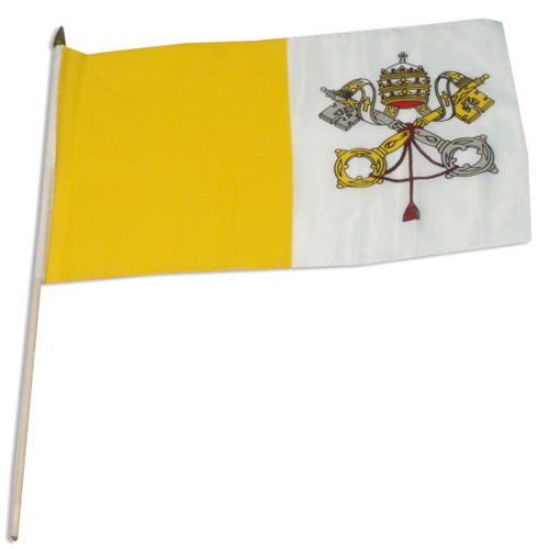 Vatican City flag 12 x 18 inch