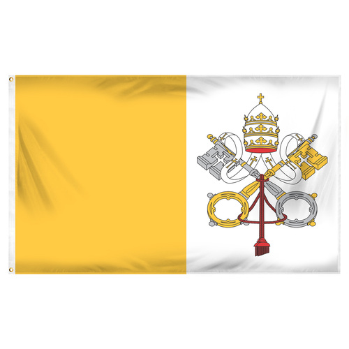 Vatican City 3ft x 5ft Printed Polyester Flag