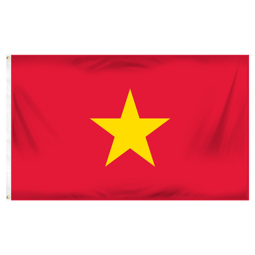Vietnam 3ft x 5ft Printed Polyester Flag