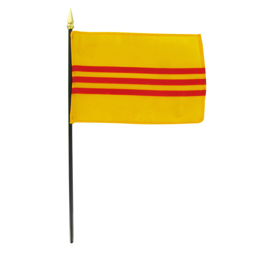 Vietnam - South - 4in x 6in Stick Flag