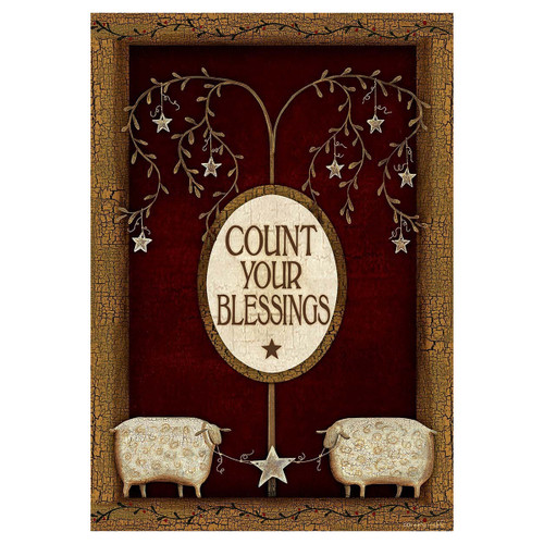 Country Garden Flag - Count Your Blessings