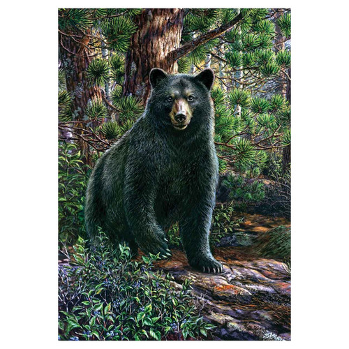Everyday Garden Flag - Black Bear